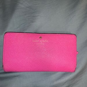 **Kate Spade Stacy Wallet - Pink **